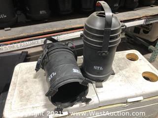 (2) Tomcat Par 64 Fresnel Lights