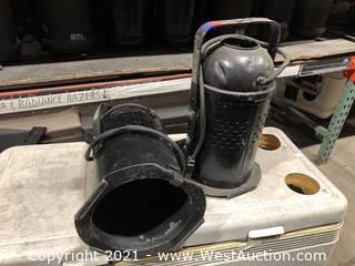 (2) Altman Par 64 Fresnel Lights