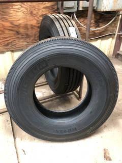 (2) Michelin XZE2 Tires