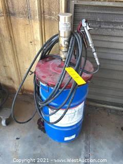 Grease Pump with Drum