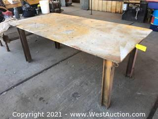 Metal Welding Table