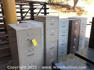 (6) Filing Cabinets