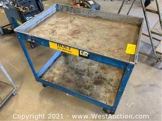 Rolling Metal Shop Cart