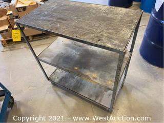 3-Shelf Shop Cart