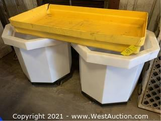 (3) Spill Containment Containers