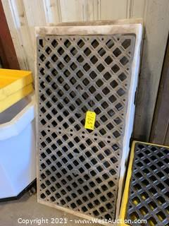 (2) Spill Containment Pallets