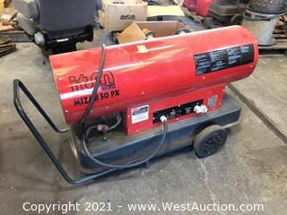 Mizar 50PX Mobile Direct Diesel Fired Heater