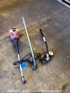 Craftsman 31cc Weedwacker with Edger Attachment