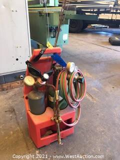Welding Tank With Tote