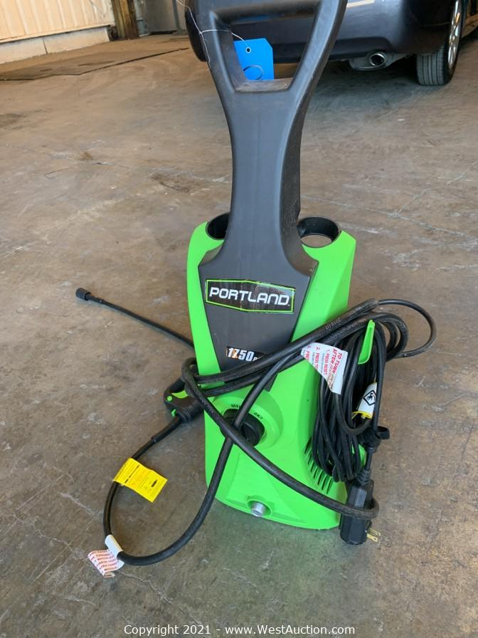 Online Auction of Welding Tank, Air Compressor, Power Tools, and More