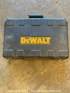 Dewalt Drill, Reciprocating Saw, Charger and 2 Batteries