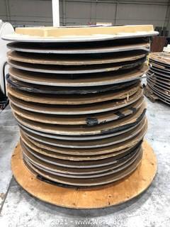 (19) Circular Folding Tables on Pallet