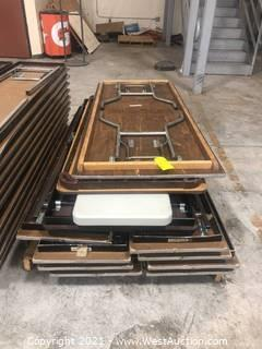 (11) Assorted Folding Tables