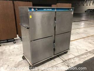 Alto-Shaam 1000-BQ2/192 Rolling Heated Banquet Cart