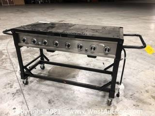 Bakers & Chiefs Mobile Propane Grill