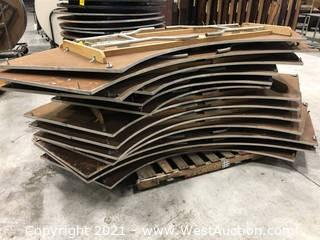 Pallet of (13) Crescent Folding Tables