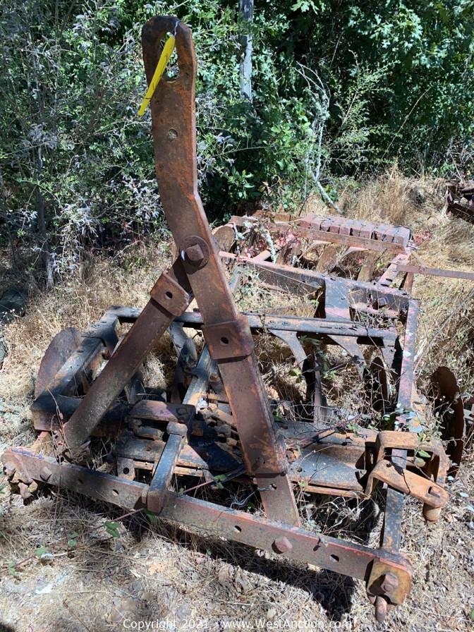 Giusti Ranch & Vineyard Surplus Auction
