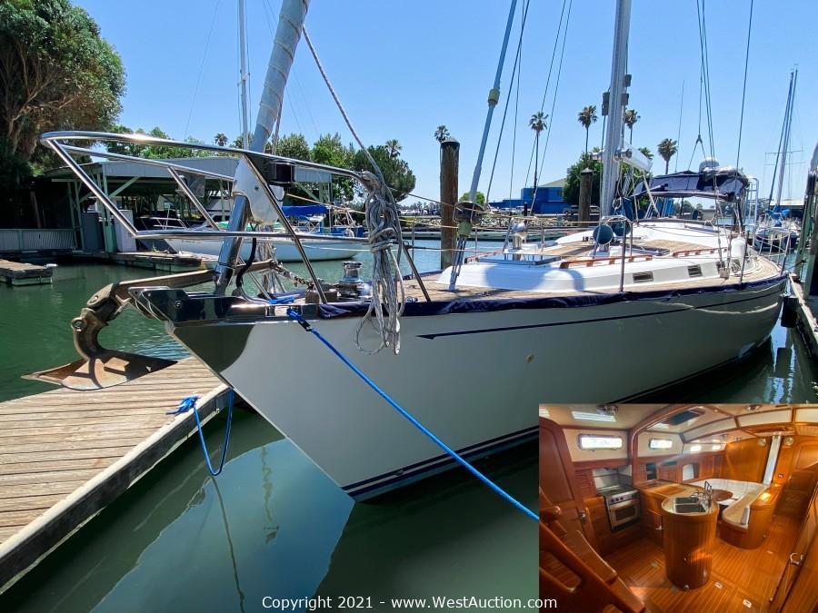 Bankruptcy Auction of 1998 Hans Christian Christina 52' Sailboat
