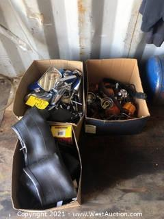 (3) Boxes Of Motorcycle Parts