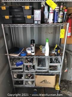 Contents Of Rack; Tool Boxes, Key Box, Handle Bar Covers, and More