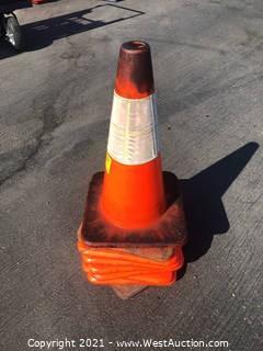(9) Traffic Cones