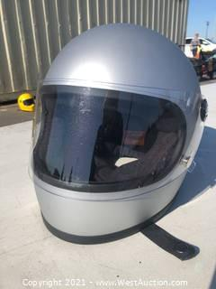 Biltwell Motorcycle Helmet - S