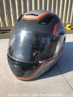 KTM Motorcycle Helmet - L