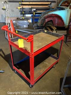 Rolling Cart With Handle