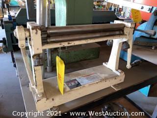Jet SR-112 Slip Roll Machine