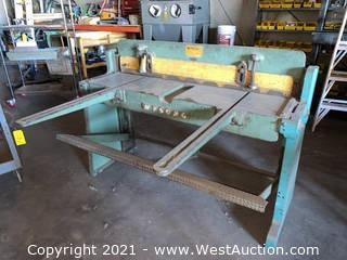 Wysong 1652 Press Brake