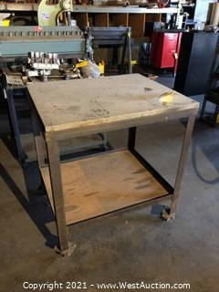 Aluminum Welding Table