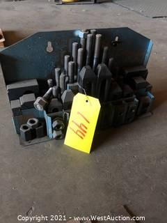 Machinist Step Block Clamp Set