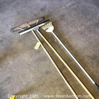 Brooms And Squeegee