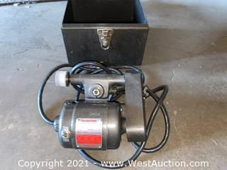 Dumore Tool Post Grinder With Case