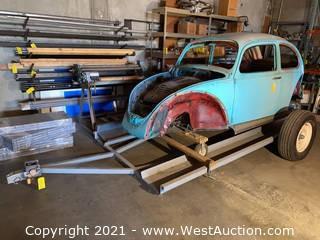 1970 Volkswagen Shell Only & Custom Trailer