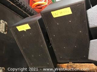 (2) EAW SM122 Speakers
