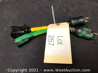 (2) Twist Lock Adapters