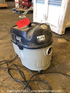 Porter Cable Wet/Dry Vacuum
