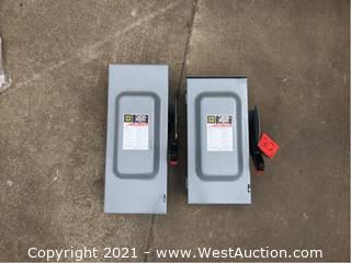 (2) Electrical Box With Switch