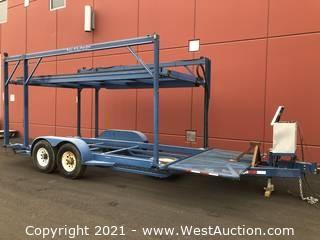 Built-Rite Stacking Trailer with Hydraulic Upper Deck
