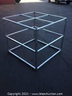 """Aluminum Cube (42"""" x 42"""" x 36"""")"""