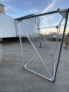 "Aluminum Cube Large (80"" x 80"" x 54"")"