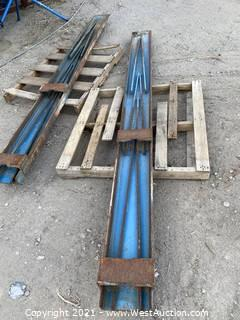 10' Forklift Blade Extensions