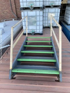 """Steel Staircase, 39""""-48"""" rise"""