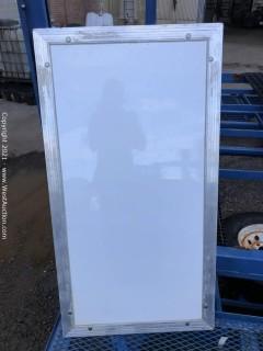 (2) Trailer Doors