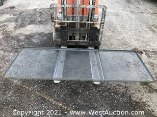 (Quantity of 5) Window Security Grates / Trailer Sides / Drying Racks