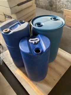(3) Barrels