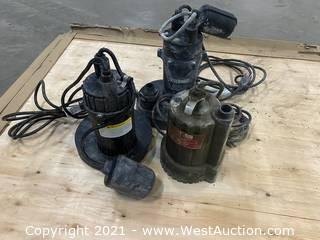 (3) Sump Pumps