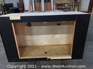 (2) Tradeshow cabinets