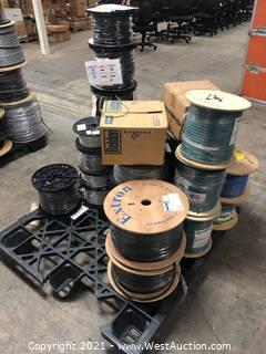 Pallet of Wiring Cable